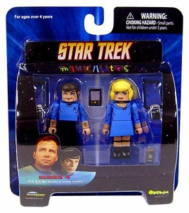 Star Trek Diamond Select Toys Series 4 Minimates Sick Bay Dr. McCoy & Nurse Chapel