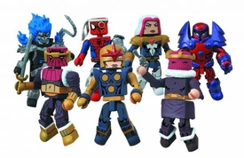 Marvel Minimates Series 50 Mini Figure 2-Pack Ghost Rider & Onslaught Pre-Order ships July