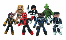 Marvel Minimates Series 51 Mini Figure 2-Pack Maria Hill & Heavy SHIELD Agent [Variant] Pre-Order ships July