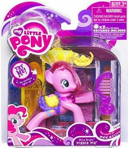 My Little Pony Canterlot Exclusive Basic Figure Shine Bright Pinkie Pie [Necklace Lights Up!]