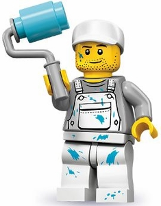 LEGO Minifigure Collection Series 10 LOOSE Mini Figure Painter [Decorator]