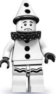LEGO Minifigure Collection Series 10 LOOSE Mini Figure Sad Clown