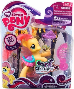 My Little Pony Canterlot Exclusive Basic Figure Shine Bright Fluttershy [Wings Light Up!]