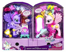 My Little Pony Canterlot Exclusive Fashion Style DELUXE 6 Inch Figure 2-Pack Princess Luna & Princess Celestia
