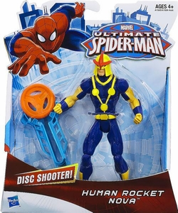 Ultimate Spider-Man Ultimate Core 6 Inch Action Figure Human Rocket Nova New!