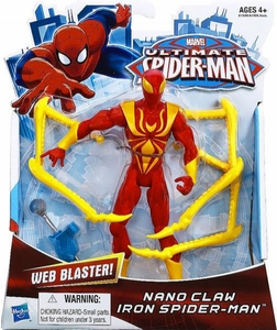 Ultimate Spider-Man Ultimate Core 6 Inch Action Figure Nano Claws Iron Spider-Man Pre-Order ships July