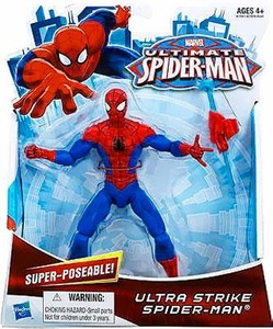 Ultimate Spider-Man Ultimate Core 6 Inch Action Figure Ultra Strike Spider-Man Pre-Order ships July