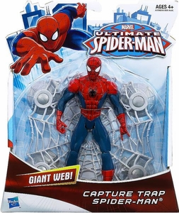 Ultimate Spider-Man Ultimate Core 6 Inch Action Figure Capture Trap Spider-Man Pre-Order ships March