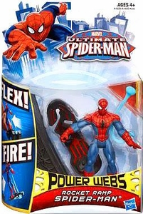 Ultimate Spider-man Power Webs Action Figure Rocket Ramp Spider-Man Pre-Order ships April