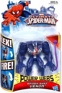 Ultimate Spider-Man Power Webs Action Figure Spider Swat Venom