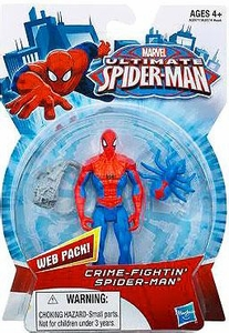Ultimate Spider-man Action Figure Crime-Fightin' Spider-Man Pre-Order ships August