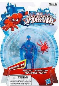 Ultimate Spider-man Action Figure Night Mission Spider-Man Pre-Order ships April