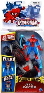 Ultimate Spider-man Power Webs Action Figure ATV Racer Pre-Order ships August