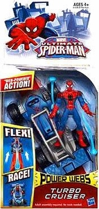 Ultimate Spider-Man Power Webs Action Figure Turbo Cruiser Pre-Order ships August
