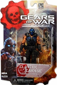 NECA Gears of War 3 3/4 Series 1 Action Figure Clayton Carmine