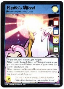 Neopets Trading Card Game Travels in Neopia Holofoil Single Card Fyora's Wand #10