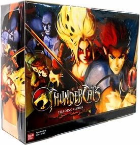 Thundercats Bandai Trading Card Box