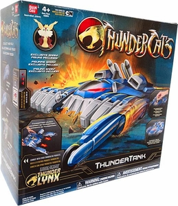 Bandai Thundercats Deluxe Vehicle Thundertank [Includes Snarf Action Figure]