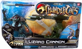 Bandai Thundercats 4 Inch Basic Vehicle with Action Figure Lizard Cannon with Lizard