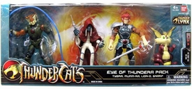 Bandai Thundercats 4 Inch Basic Action Figures Eye of Thundera 4-Pack [Tygra. Lion-O, Mumm-Ra & Snarf]