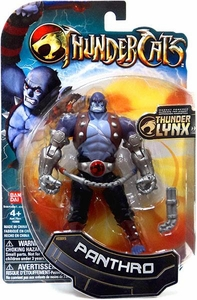 Bandai Thundercats 4 Inch Basic Action Figure Panthro  [Silver Arms]