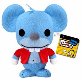 Funko Simpsons 5 Inch Plush Figure Itchy the Mouse