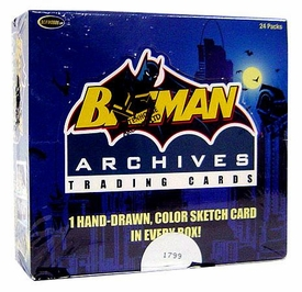 Batman Archives Trading Cards Box