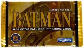 Batman Saga of the Dark Knight Trading Card Pack [8 Cards]