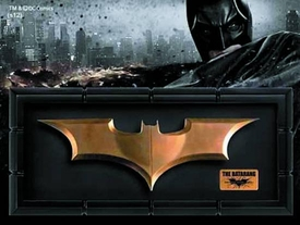 DC Direct Batman The Dark Knight Rises Batarang Replica Pre-Order ships July