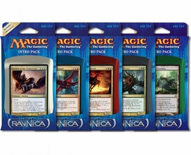 Magic the Gathering Return to Ravnica Set of 5 Intro Decks