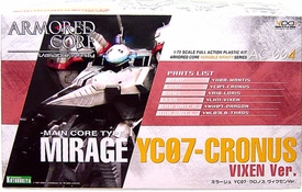 Armored Core Kotobukiya Action Model Kit AC-004 Mirage YC07-Cronus Vixen Version