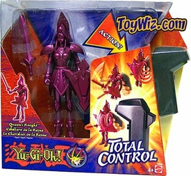 YuGiOh 7 Inch Total Control Action Figure Yugi Queen's Knight