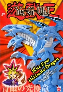 YuGiOh Deluxe Model Kit Blue Eyes Ultimate Dragon