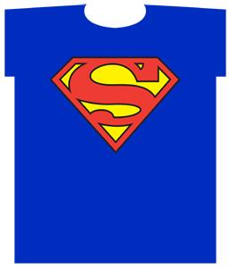 DC Super Heroes Youth T-Shirt Superman Shield Logo