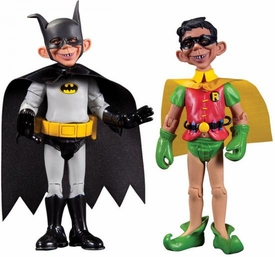 DC Collectibles MAD Just Us League of Stupid Heroes 2012 SDCC San Diego Comic Con Exclusive Action Figures Batman & Robin