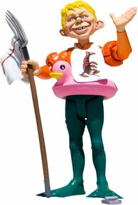 DC Collectibles MAD Just Us League of Stupid Heroes Action Figure Alfred E. Neuman As Aquaman