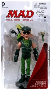 DC Collectibles MAD Just Us League of Stupid Heroes Action Figure Alfred E. Neuman As Green Arrow