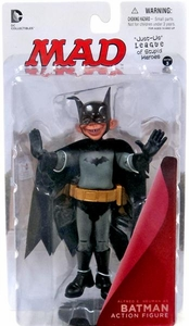 DC Collectibles MAD Just Us League of Stupid Heroes Action Figure Alfred E. Neuman As Batman