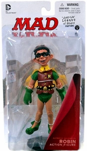 DC Collectibles MAD Just Us League of Stupid Heroes Action Figure Alfred E. Neuman As Robin