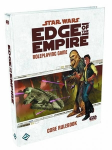 Star Wars RPG Edge of The Empire Core Rulebook Pre-Order ships August