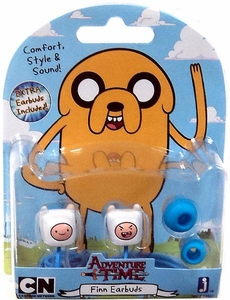 Adventure Time Earbuds Finn