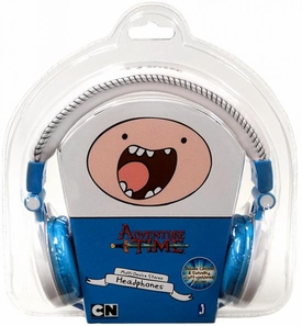 Adventure Time Fold-Up Stereo Headphones Finn