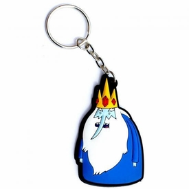 Adventure Time Rubber Keychain Ice King