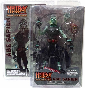 Hellboy Gentle Giant Action Figure Abe Sapien [Animated Style]