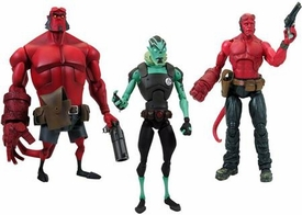 Hellboy Gentle Giant Set of all 3 Hellboy Action Figures
