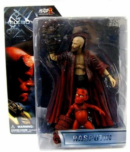 Mezco Hellboy Action Figure Series 1 Rasputin [with Hellbaby]