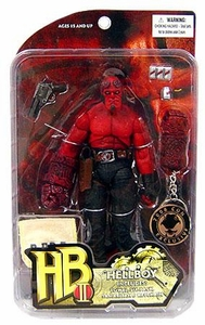 Hellboy 2 Golden Army 2008 SDCC San Diego Comic-Con Exclusive Action Figure Locker Room Hellboy