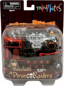 Minimates Calico Jacks Pirate Raiders The Vendetta with Anne Bonny