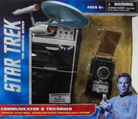 Star Trek The Original Series Communicator & Science Tricorder BLOWOUT SALE!
