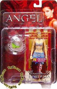 Buffy the Vampire Slayer Angel Series 8 Exclusive Action Figure Pylean Princess Cordelia Damaged Package, Mint Contents!